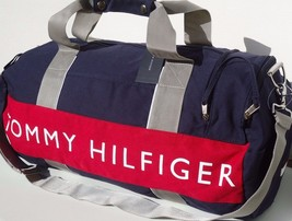 NEW! Blue/Red/White  [TOMMY HILFIGER] LARGE Duffle Travel Carry-On Bag - $2.095,51 MXN