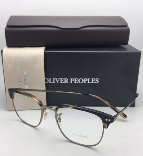daaed73708 12. 12. Previous. New OLIVER PEOPLES Eyeglasses WILLMAN OV 5359 1003 49-19  Cocobolo   Antique Gold