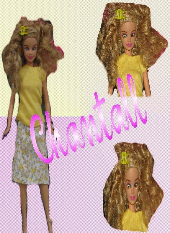 Fashion Doll  Chantall OOAK Refashioned Barbie