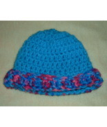 Preemie Baby or Doll Crocheted Hat 12 Inch Circumference - $3.00