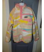 Patagonia Multi-Color Synchilla Snap Pullover Size L (12) Girl's EUC  - $45.00
