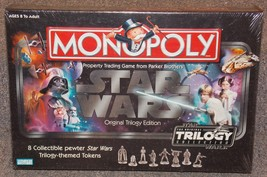 2004 Star Wars Monopoly Original Trilogy Edition New In The Box  Factory... - $74.99