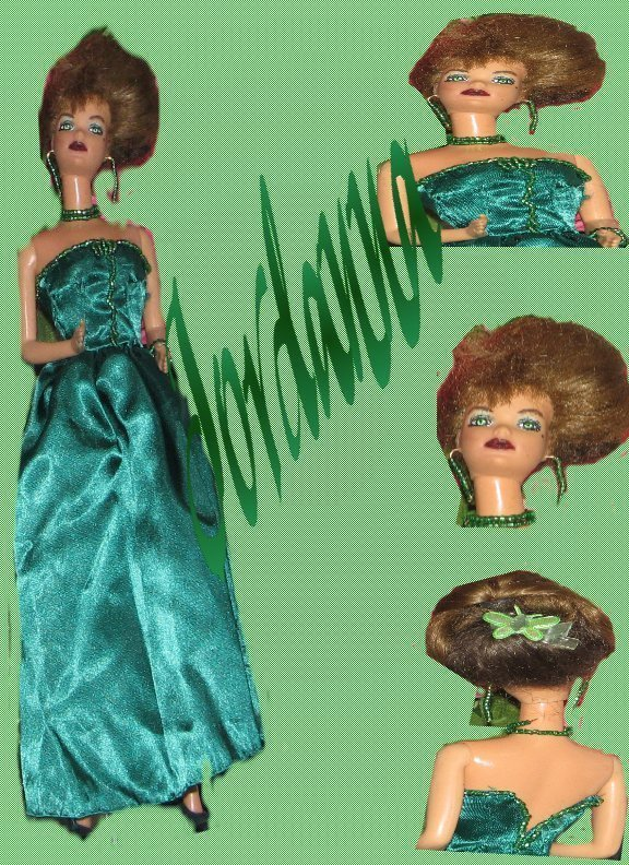 Fashion Doll Jordanna OOAK Refashioned Barbie