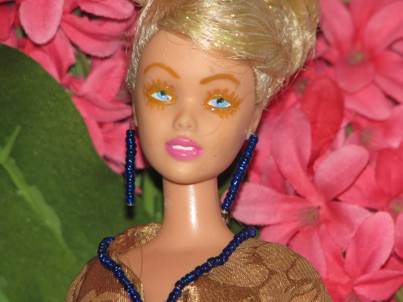 Fashion Doll Makinzie OOAK Refashioned Cinderella Barbie