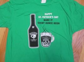 Baileys Irish Cream Happy St Patricks day make it every ounce Ir T Shirt... - $10.99