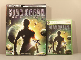 Star Ocean: The Last Hope (Xbox 360, 2009) **SEALED NEW** with Bradygame... - $99.95