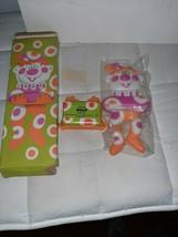 1973 Avon Plastic Clancey The Clown Soap Holder and Soap NIP Pink/Orange - $9.50