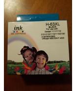 Black ink for HP 63XL Ink Cartridge HP DeskJet,officejet,envy (read desc... - $16.34