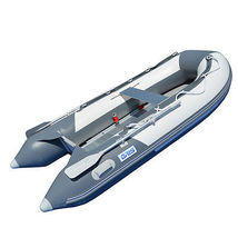 BRIS 8.2 ft Inflatable Boat Inflatable Pontoon Dinghy Raft Tender image 4