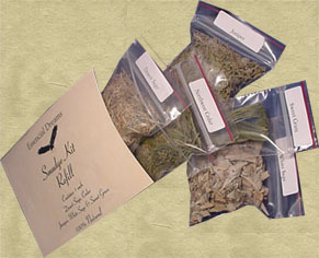 Smudge Kit Sage Desert & White, Cedar, Sweetgrass more.