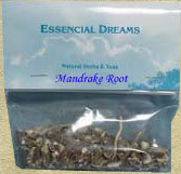 Mandrake Root ~Organic Herbs~ Freshly Dried 1/2 oz.