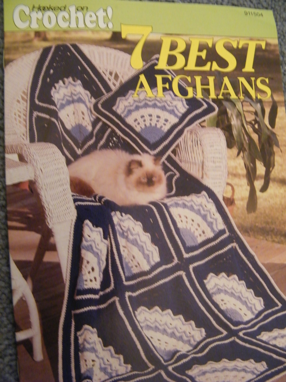 7 BEST AFGHANS FROM HOOKED ON CROCHET 1991