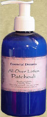 Patchouli Lotion~ Body Care Organic 8 oz