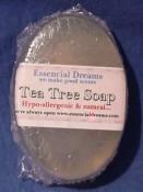 Tea Tree ~ Natural Glycerin Soap~ Bar