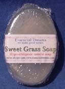 Sweet Grass ~ Natural Glycerin Soap~ Bar