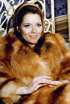 Diana Rigg 1960's in Fur Coat 18x24 Poster - $23.99