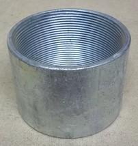 Conduit Coupling 4in Steel Threaded - $28.11