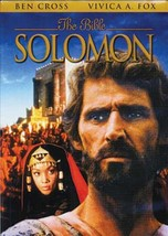 The Bible Solomon DVD 2000,Special Edition Ben Cross Vivica A Fox RARE OOP - $16.00