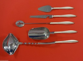 Esprit by Gorham Sterling Silver Cocktail Party Bar Serving Set 5pc Custom Made - $339.00