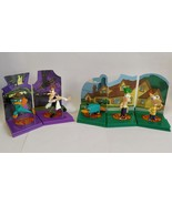 Phineas and Ferb Tomy Gacha Complete Set 5 Diorama Figures - $18.00