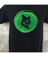 """PORT AND COMPANY BLACK SHORT SLEEVE GRAPHIC T SHIRT CAT  """"WHAT YOUR GREE... - $14.85"""