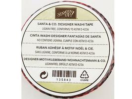 Stampin' Up! Santa & Co. Designer Washi Tape #135843 image 2