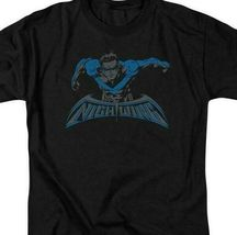 Nightwing t-shirt DC American comic books Superman hero graphic tee BM2468 image 3