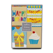 Assorted Birthday Greeting Cards, Hallmark Birthday Icons, 12 Cards and ... - $12.10