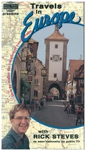 Travels in Europe With Rick Steves - VHS Tape