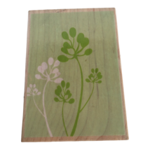 Hero Arts Rubber Stamp Pod Branch Background Plant Branches Nature Card ... - $7.99