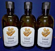 Three pack: The Body Shop Bodyshop Ginger Scalp Care Shampoo 400ml 13.5fl oz x3 - $93.00