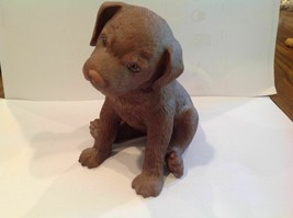 LENOX Loveable WHimsical Chocolate Lab Collectible Figurine 2003 - $43.56