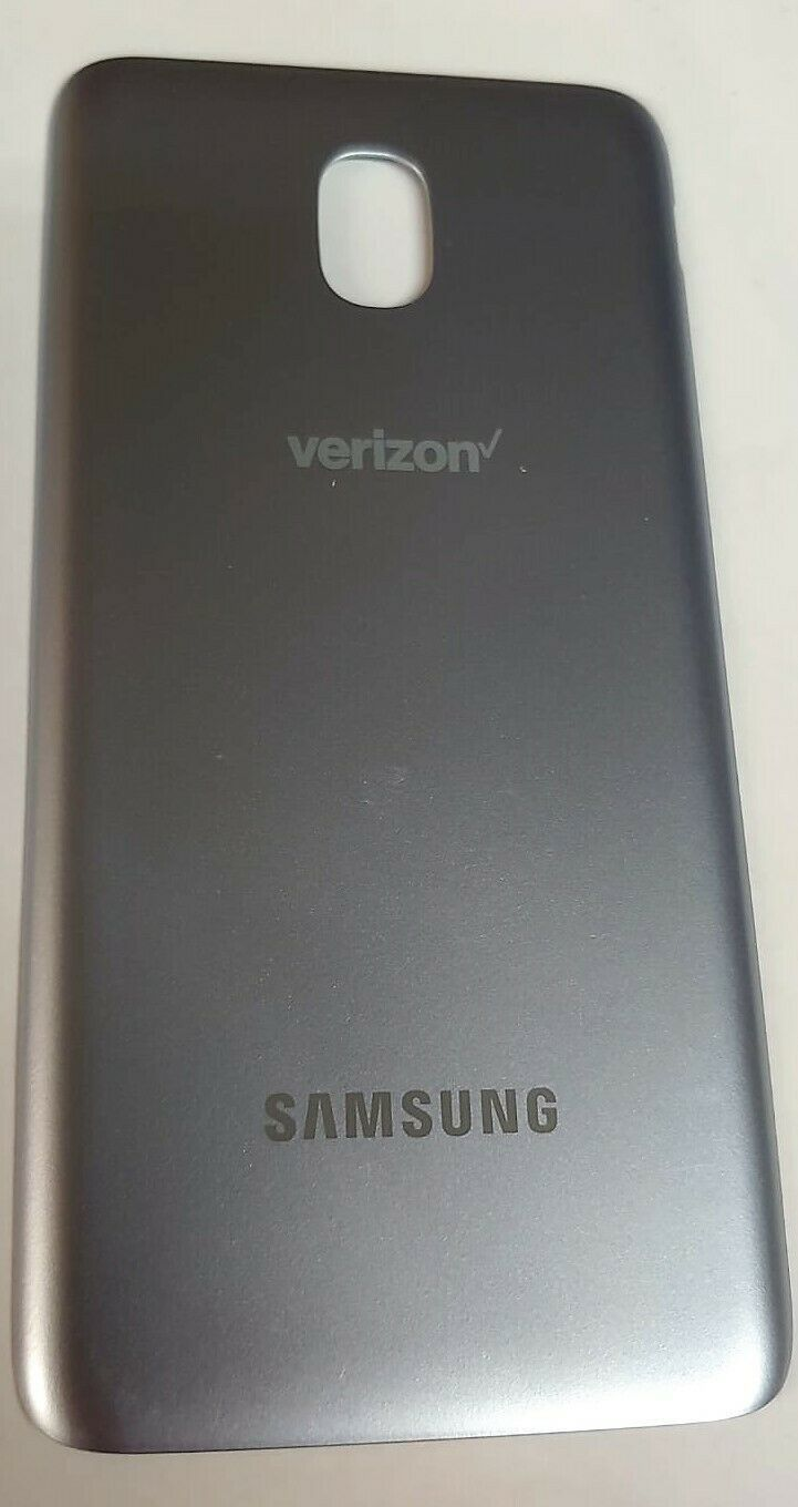 Primary image for OEM Samsung GALAXY J3 V J337V Back Cover Battery Door - Verizon - Silver