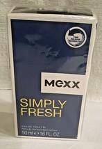 Mexx Simple Frais Eau de Toilette Spray pour Hommes, 1.6 Fl OZ Nouveau - $17.37