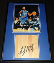 Shabazz Muhammad Signed Framed 12x18 Floorboard + Photo Display Timberwo... - £64.01 GBP