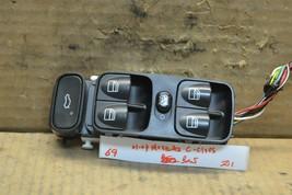 2001-2007 Mercedes C Class Master Switch Door A20382106 Window Lock Bx5 69-Z1 - $22.99
