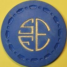 $1 Vintage Casino Chip. SFE, Beaumont, CA. 1952. Q52. - $14.50