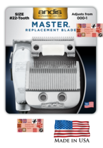 ANDIS Master Adjustable OEM Replacement Clipper Blade FIT:ML 01557 01690... - $40.85