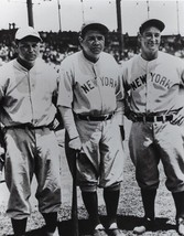 Babe Ruth Lou Gehrig Jimmie Foxx 8X10 Photo New York Yankees Ny Baseball Picture - $3.95