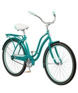 "26"" Women's Huntington Beach Cruiser Bike Steel Frame Comfort Ride, Teal - $333.15"