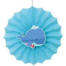 """Under the Sea Pals 12"""" Hanging Fan Decoration Baby Shower 1st Birthday - $4.94"""
