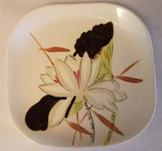 Vintage Red Wing Pottery Plates Lotus Flower - $39.99