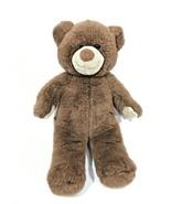 Build A Bear Brown Teddy Bear Plush Stuffed Animal Toy  - $14.30