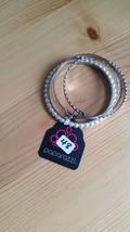 Paparazzi Bracelet(New) Silver & Pearl 48 - $7.61