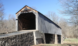 Schofield Ford Covered Bridge 13 x 19 Unmatted Photo - $35.00