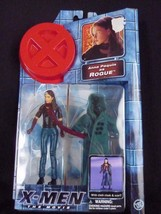 2000 Toy Biz Marvel X-Men The Movie Anna Paquin as ROGUE Action Figure on Card - $9.58