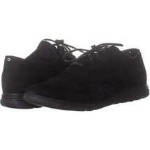Cole Haan Grand Tour Oxford Sneakers 159, Black Suede/Black, 7.5 US - $46.07