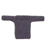 Barbie Doll Clothes Knit Lavendar Boatneck Sweater Handmade - $6.49