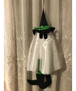 Multicolored Hanging Witch Ghost Props Halloween Party Home Office Yard ... - $6.60