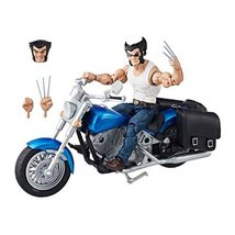 Marvel Legends Series 6-inch Wolverine with Motorcycle image 3